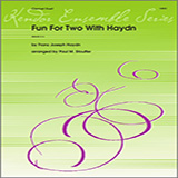 Download Stouffer Fun For Two With Haydn Sheet Music arranged for Wind Ensemble - printable PDF music score including 10 page(s)