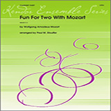 Download Stouffer Fun For Two With Mozart Sheet Music arranged for Wind Ensemble - printable PDF music score including 10 page(s)