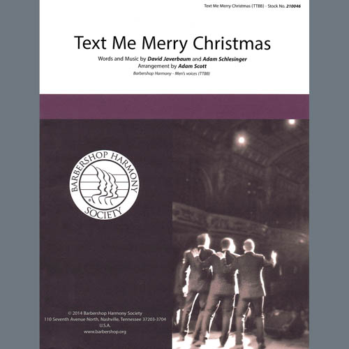 Straight No Chaser feat. Kristen Bell Text Me Merry Christmas (arr. Adam Scott) profile picture