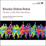 Download Strommen Kendor Debut Solos - Eb Alto Sax - Piano Accompaniment Sheet Music arranged for Woodwind Solo - printable PDF music score including 45 page(s)