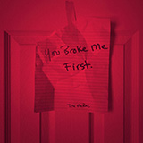 Download Tate McRae You Broke Me First Sheet Music arranged for Easy Guitar Tab - printable PDF music score including 5 page(s)
