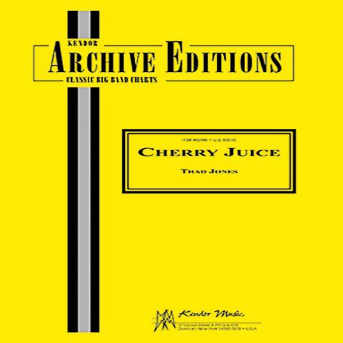 Thad Jones Cherry Juice - Full Score profile picture
