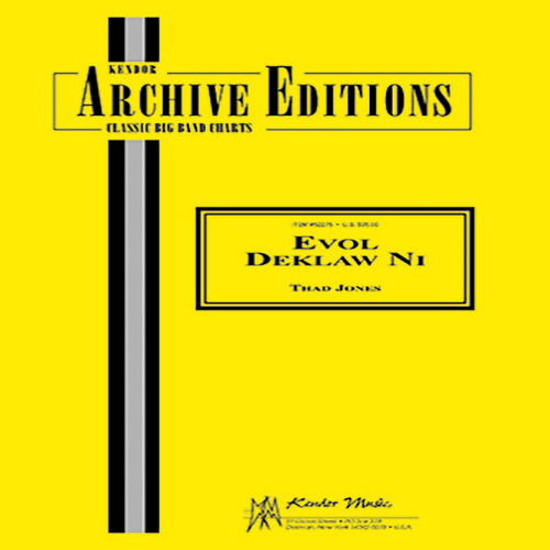 Thad Jones Evol Deklaw Ni - 2nd Eb Alto Saxophone profile picture