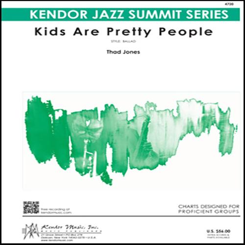 Thad Jones Kids Are Pretty People - Full Score profile picture