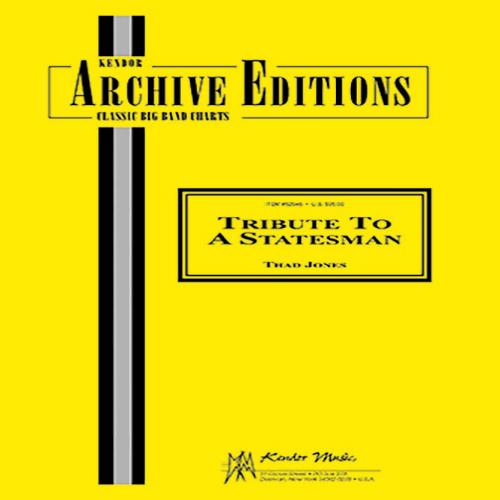 Thad Jones Tribute To A Statesman - 2nd Bb Tenor Saxophone profile picture