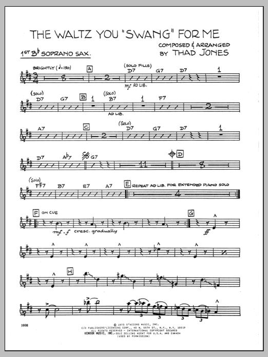 Thad Jones Waltz You