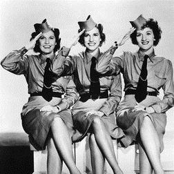 Download or print I'll Be With You In Apple Blossom Time Sheet Music Notes by The Andrews Sisters for Piano