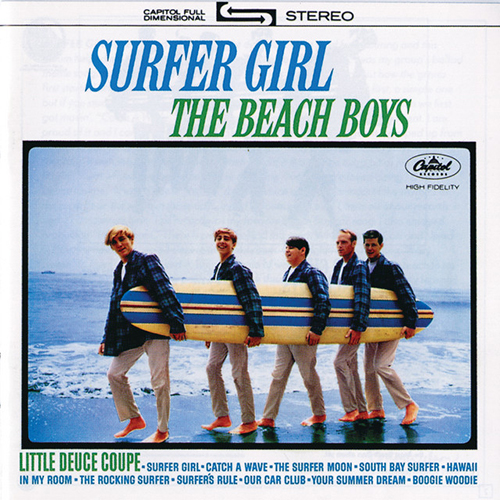 The Beach Boys Little Deuce Coupe pictures