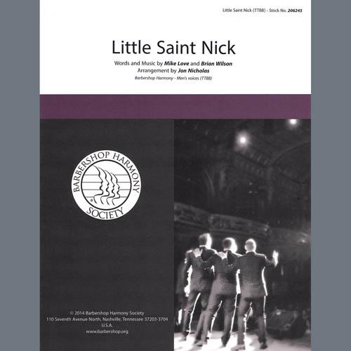The Beach Boys Little Saint Nick (arr. Jon Nicholas) profile picture