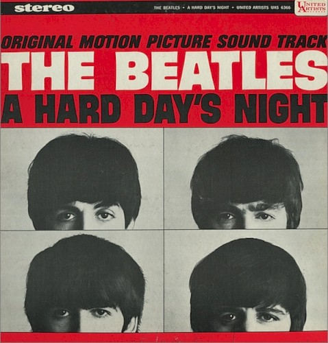 Download The Beatles A Hard Day's Night Sheet Music arranged for SAB - printable PDF music score including 8 page(s)