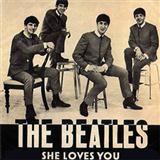 Download The Beatles She Loves You Sheet Music arranged for Drums - printable PDF music score including 3 page(s)