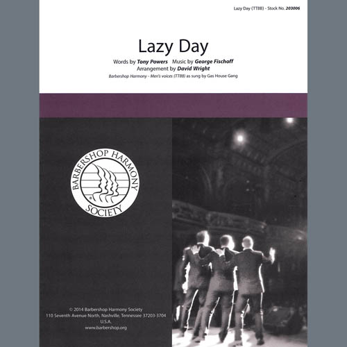 The Gas House Gang Lazy Day (arr. David Wright) profile picture