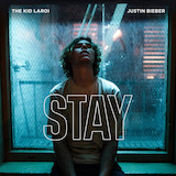 Download The Kid LAROI Stay (feat. Justin Bieber) Sheet Music arranged for Piano, Vocal & Guitar (Right-Hand Melody) - printable PDF music score including 6 page(s)