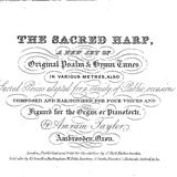 Download or print Beach Spring (Lord, Whose Love In Humble Service) Sheet Music Notes by The Sacred Harp for Piano