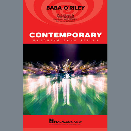The Who Baba O'Riley (arr. Matt Conaway) - Cymbals profile picture