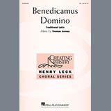 Download Thomas Juneau Benedicamus Domino Sheet Music arranged for TB Choir - printable PDF music score including 11 page(s)