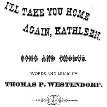 Thomas Westendorf I'll Take You Home Again, Kathleen pictures