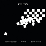 Download or print Chess Sheet Music Notes by Andersson and Ulvaeus for Piano