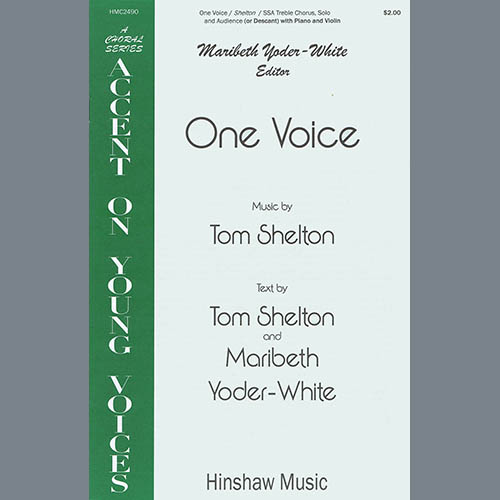 Tom Shelton One Voice profile picture