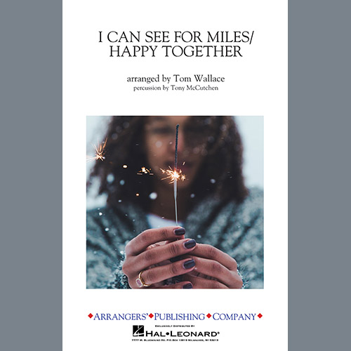Tom Wallace I Can See for Miles/Happy Together - Percussion Score profile picture