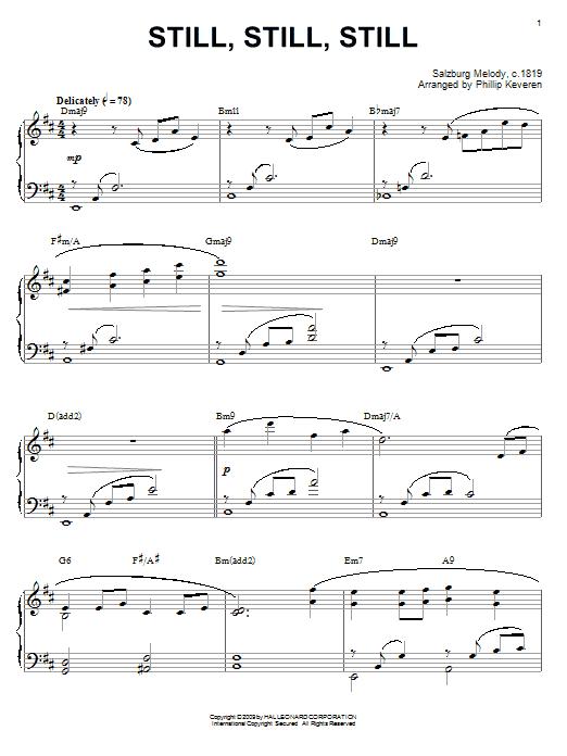 Download Traditional 'Still, Still, Still' Digital Sheet Music Notes & Chords and start playing in minutes
