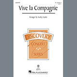 Download or print Vive La Compagnie (arr. Audrey Snyder) Sheet Music Notes by Traditional for TB Choir