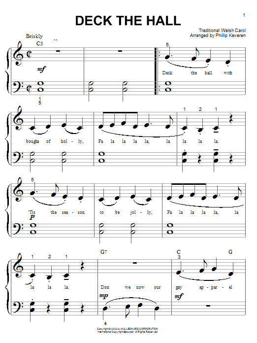 Traditional Carol Deck The Hall sheet music preview music notes and score for Ukulele including 2 page(s)