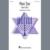 Download or print Maoz Tsur (Rock of Ages) (arr. Ross Fishman) Sheet Music Notes by Traditional Hebrew for SATB Choir