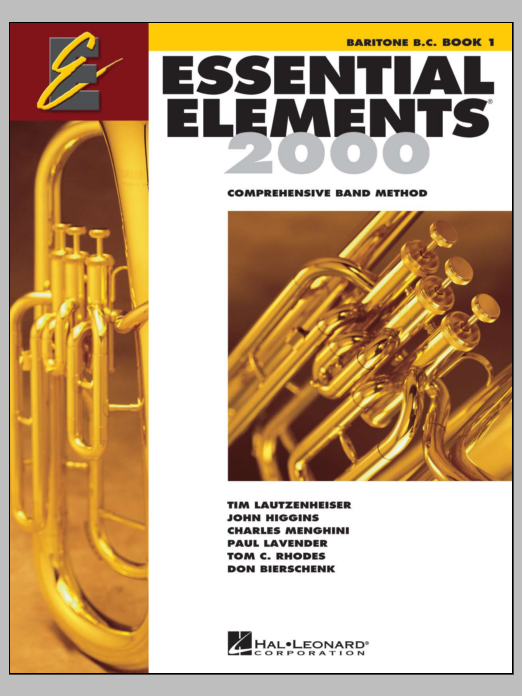 Download Various 'Essential Elements 2000, Book 1 For Baritone B.C. (Book Only)' Digital Sheet Music Notes & Chords and start playing in minutes