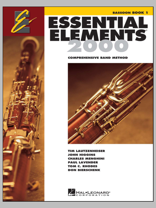 Download Various 'Essential Elements 2000, Book 1 For Bassoon (Book Only)' Digital Sheet Music Notes & Chords and start playing in minutes