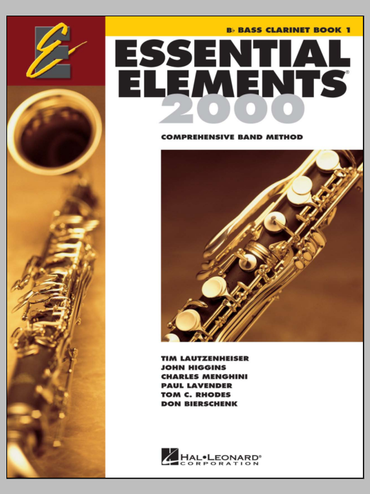 Download Various 'Essential Elements 2000, Book 1 For Bb Bass Clarinet (Book Only)' Digital Sheet Music Notes & Chords and start playing in minutes