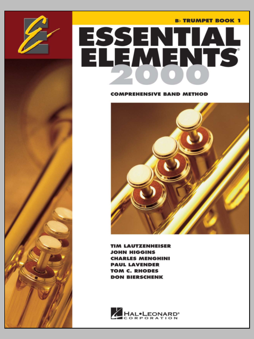 Download Various 'Essential Elements 2000, Book 1 For Bb Trumpet (Book Only)' Digital Sheet Music Notes & Chords and start playing in minutes