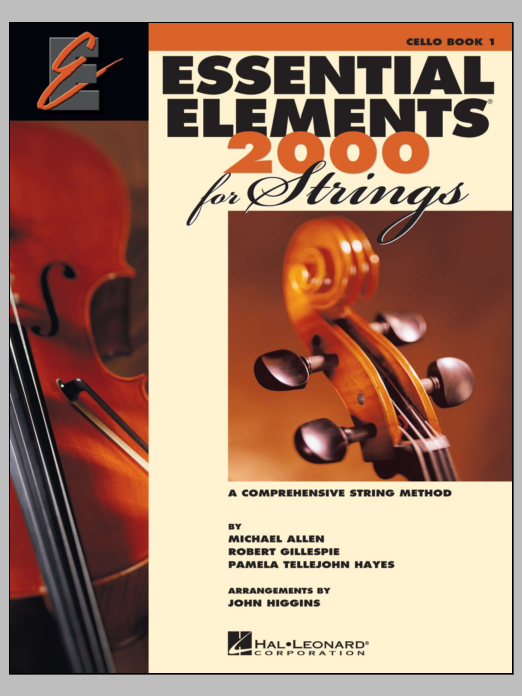 Download Various 'Essential Elements 2000 For Strings Book 1 - Cello (Book Only)' Digital Sheet Music Notes & Chords and start playing in minutes