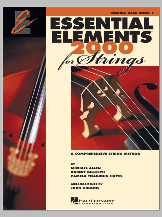 Download Various 'Essential Elements 2000 For Strings Book 1 - Double Bass (Book Only)' Digital Sheet Music Notes & Chords and start playing in minutes