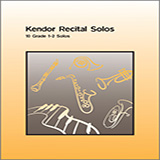 Download Various Kendor Recital Solos - Tenor Saxophone (Piano Accompaniment Book Only) Sheet Music arranged for Woodwind Solo - printable PDF music score including 34 page(s)