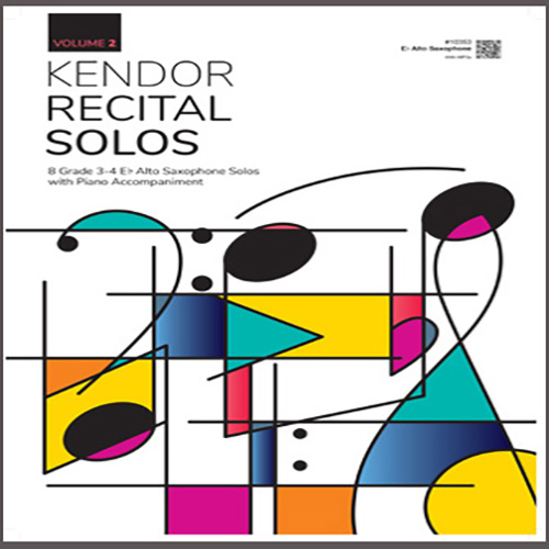 Various Kendor Recital Solos, Volume 2 - Eb Alto Saxophone profile picture