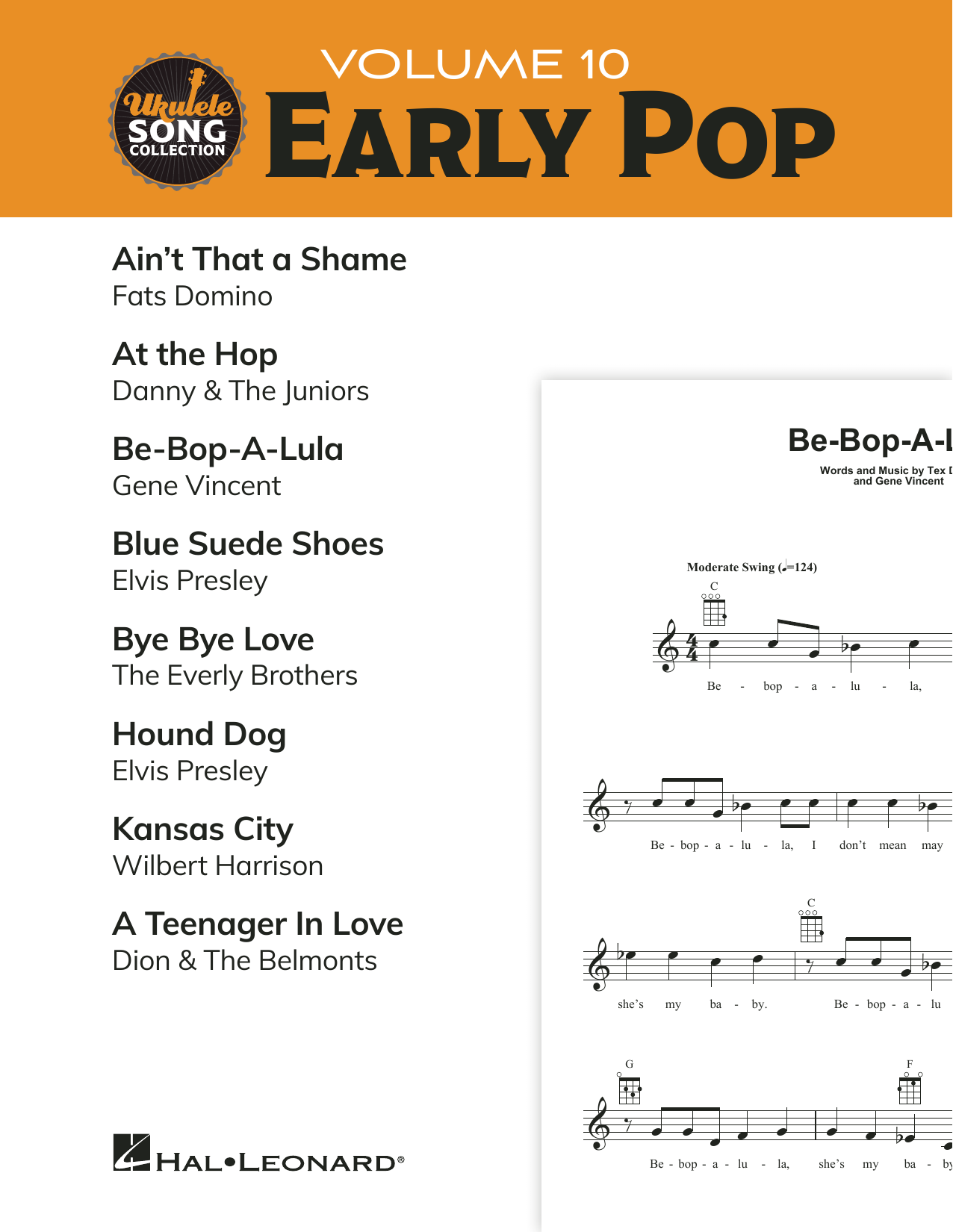 Various Ukulele Song Collection, Volume 10: Early Pop sheet music preview music notes and score for Ukulele Collection including 20 page(s)