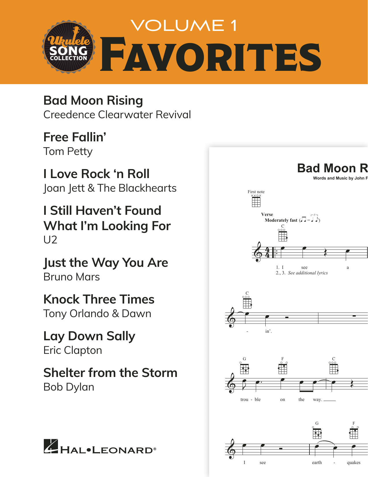 Download Various 'Ukulele Song Collection, Volume 1: Favorites' Digital Sheet Music Notes & Chords and start playing in minutes