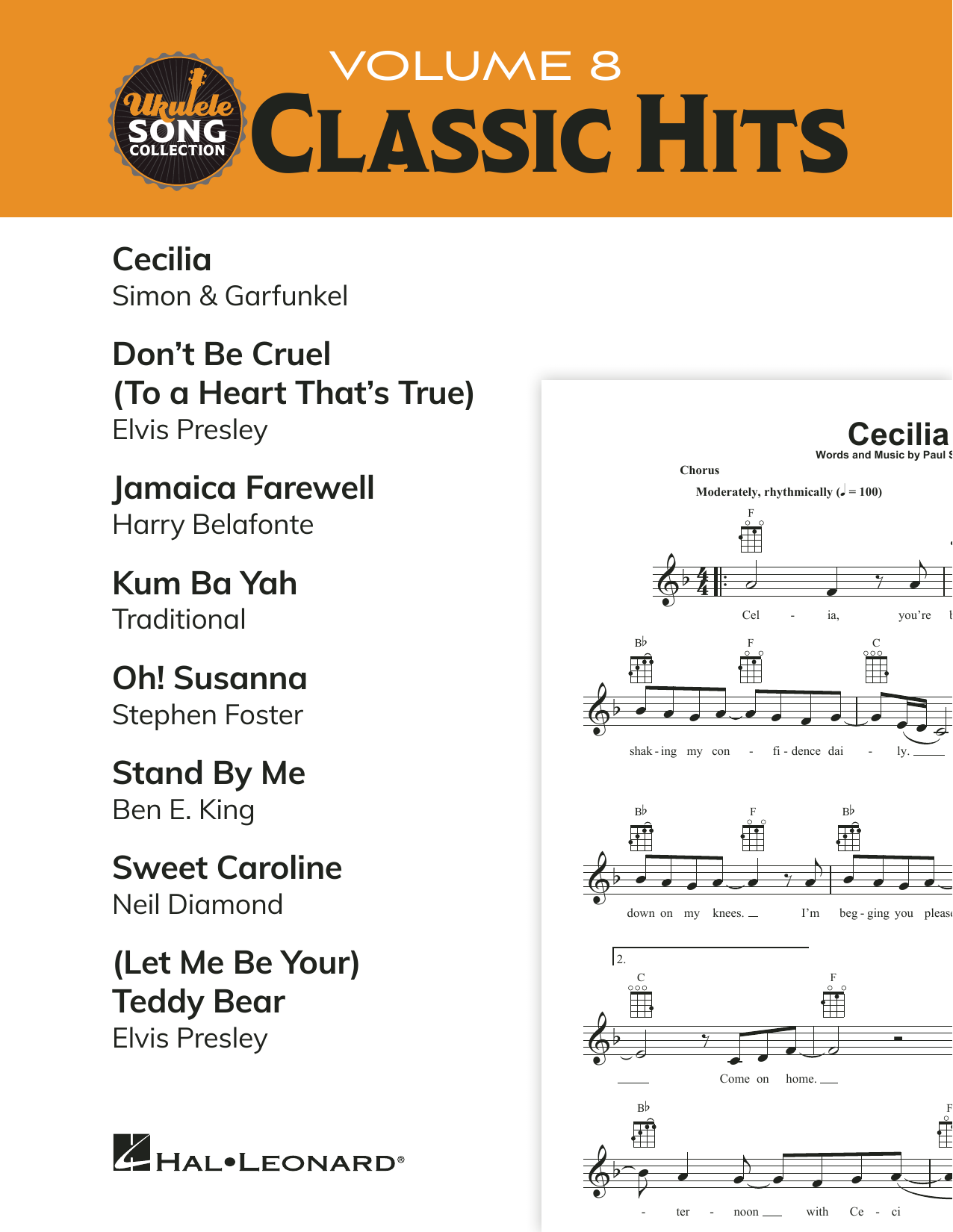 Various Ukulele Song Collection, Volume 8: Classic Hits sheet music preview music notes and score for Ukulele Collection including 22 page(s)