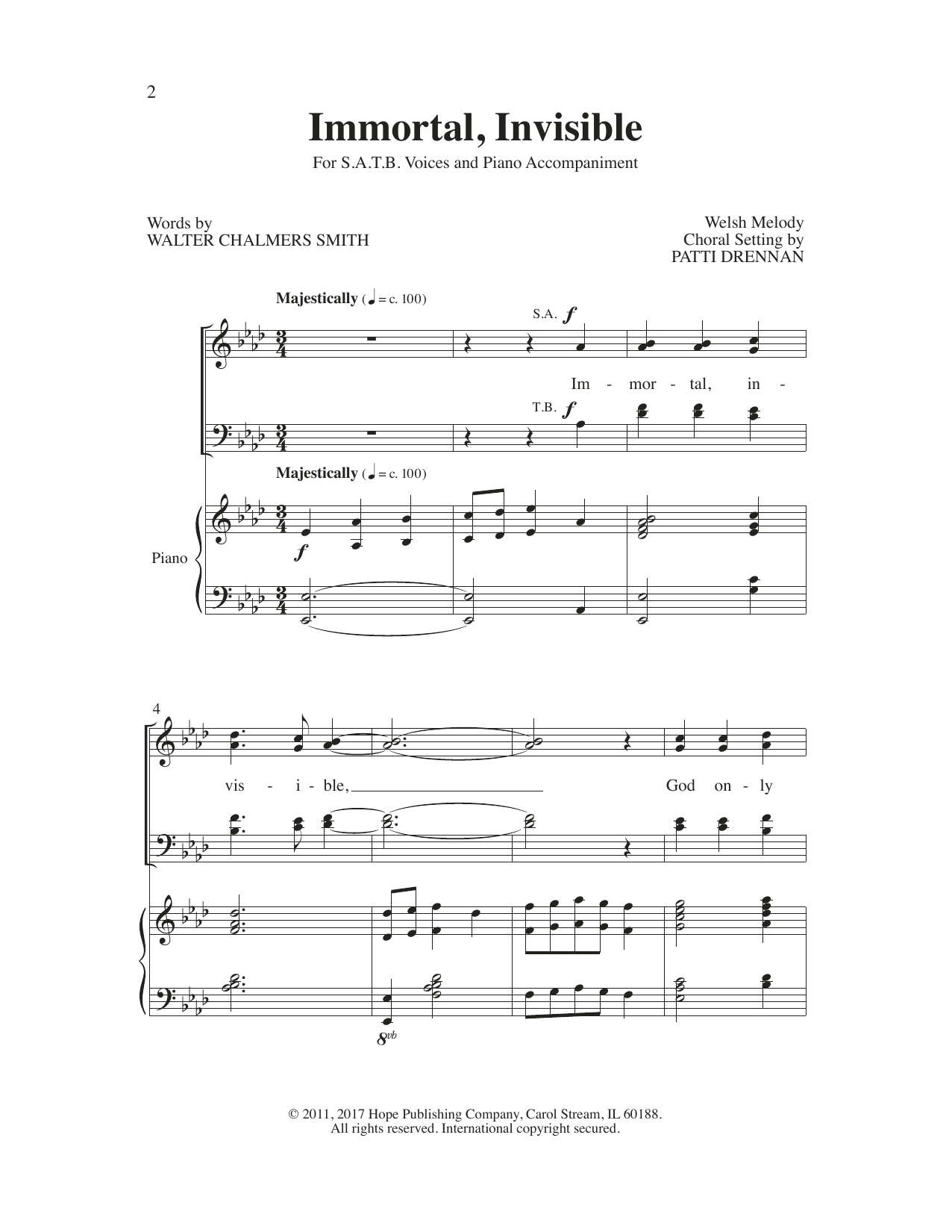 Various Worship Openers IV: Introits That Work! sheet music preview music notes and score for SATB Choir including 43 page(s)