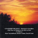 Download or print O Worship The King Sheet Music Notes by William Gardiner for Piano