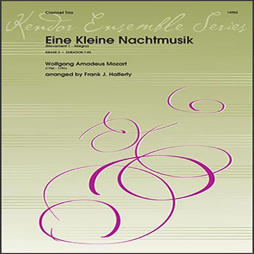Wolfgang Amadeus Mozart Eine Kleine Nachtmusik (Movement 1 - Allegro) (arr. Frank J. Halferty) - 1st Bb Clarinet profile picture
