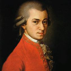 Download or print Last Movement Theme from Violin & Piano Sonata in Eb, K481 Sheet Music Notes by Wolfgang Amadeus Mozart for Piano