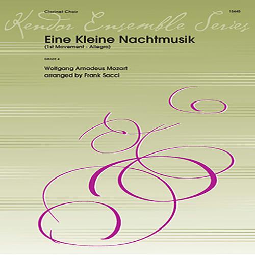 Wolfgang Mozart Eine Kleine Nachtmusik (1st Movement - Allegro) (arr. Frank Sacci) - 2nd Bb Clarinet profile picture